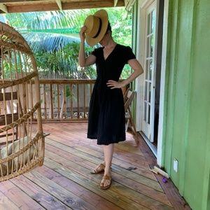 Dawn Dress in black by Christy Dawn